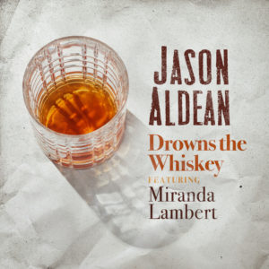 "Jason Aldean ""Drowns The Whiskey"" PRO CD cover"